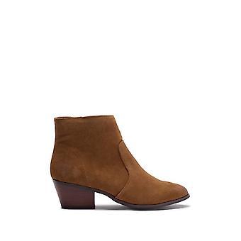 Steve Madden Womens Creek Cuir Amande Toe Ankle Fashion Boots