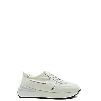 Car Shoe Ezbc029036 Women's White Leather Sneakers