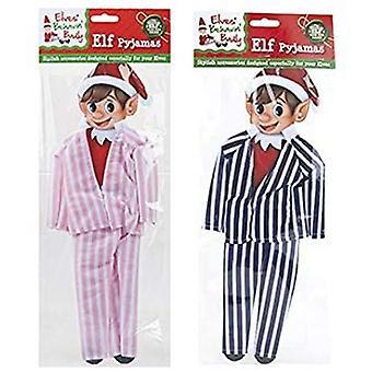 Elfek Behavin' Rosszul - Karácsonyi Elf Pizsama Dress Up - 1 Véletlenszerűen