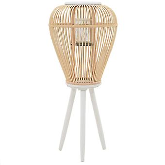 Stand candle holder Bamboo Nature