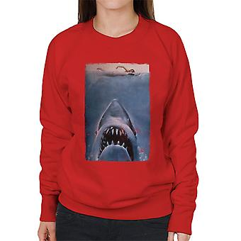 Jaws Classic Affisch Stalking Prey Kvinnor's Tröja