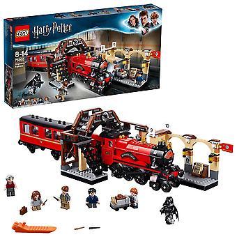 Lego 75955 harry potter hogwarts trem expresso brinquedo, feto mundo presente fã, construção de conjuntos para crianças