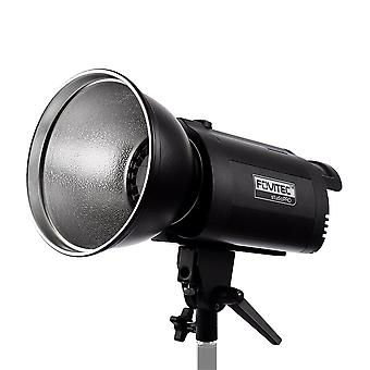 Fovitec 100w led dimmable daylight monolight with s-type mount, digital display, cooling fan and 18c