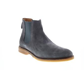 Clarks Clarkdale Gobi  Mens Gray Suede Slip On Chelsea Boots