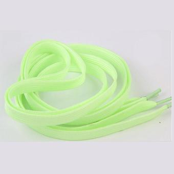 1 Pair 60cm Flat Reflective Runner Shoe Laces Safety Luminous Glowing Shoelaces