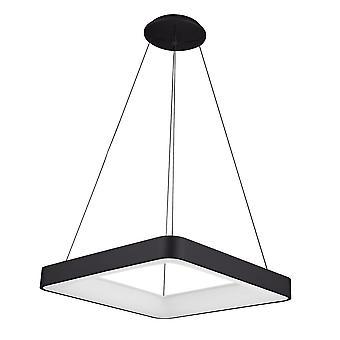 Italux Giacinto - moderne LED hängen Anhänger schwarz, warm weiß 3000K 2750lm dimmbar
