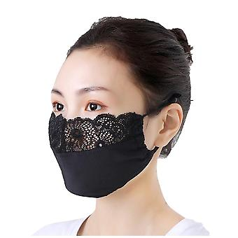 Adult Natural Cotton Linen Cool Mouth Cover Dust-proof Reusable Masks