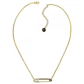 Karl Lagerfeld Woman Gold Plated Pendant Necklace 5420599