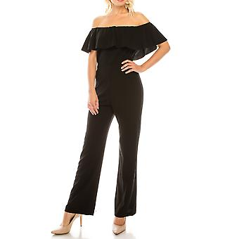 Tuta balzata off-the-shoulder