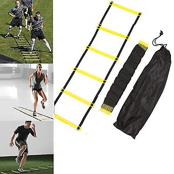 Échelles d'entraînement Agility Speed Ladder Escaliers Agile Staircase for Fitness Soccer Football Speed Ladder