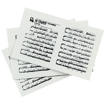 Dolls House Miniature Music Room Accessory Sheet Music