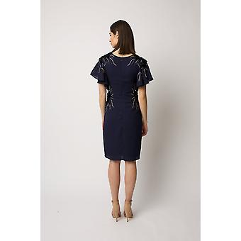 Navy malia dress