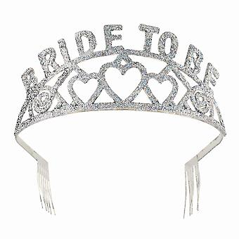 Bristol Novelty Womens/Ladies Bride To Be Tiara