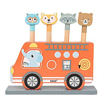Elephant bus spring toy