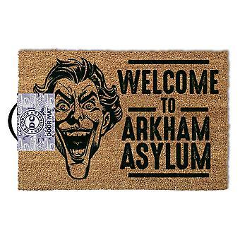 The Joker Welcome To Arkham Asylum Door Mat