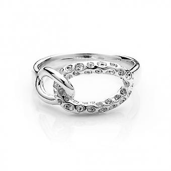 Rachel Galley A303-SV-SM Women's Mini Allegro Loop Silver Ring