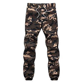 Camouflage Military Jogger Pants Men Pure Cotton Spring Autumn Pencil Harem