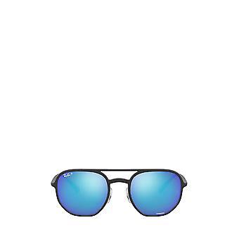 Ray-Ban RB4321CH matte black unisex sunglasses