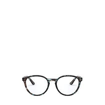 Ray-Ban RX5380 havanna opaali vaaleansininen unisex silmälasit
