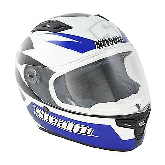 Stealth HD117 GP Replica Adult Full Face Helmet - Blue