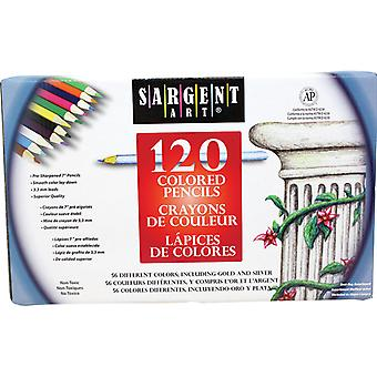 Colored Pencils, 56 Colors, 120 Count