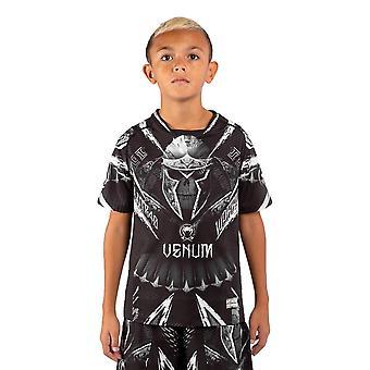Venum GLDTR 4.0 Kids Dry Tech T-Shirt Svart/Vit