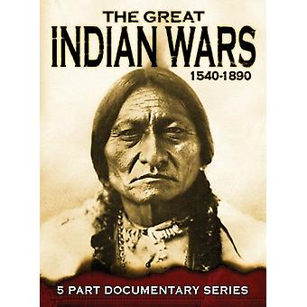 Great Indian Wars [DVD] USA import