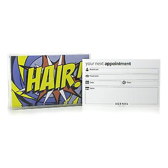 Agenda Hair AP18 Appointment Cards (Pack Of 100)