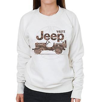Jeep Willys MA Star Women's Sweatshirt