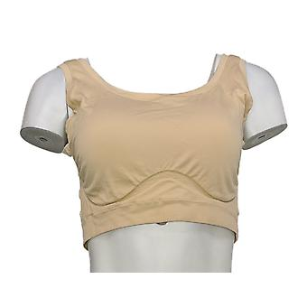 Yummie Bra DD Soft Scoop Seamless With Removable Pads Beige 653-493