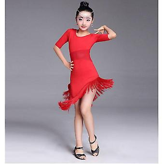 Child Latin Fringe Latin Dance Clothe