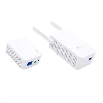 Gigabit Powerline Adapter, Powerline Netzwerkadapter Av1000 Ethernet Plc