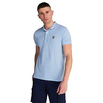 Lyle & Scott Plain Polo Shirt - Pool Blue