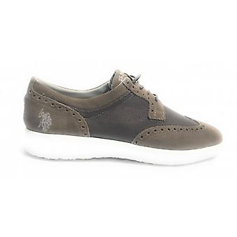Menns sko oss Polo Sneaker Casual Tristan Semsket / Taupe Stoff Us18up13