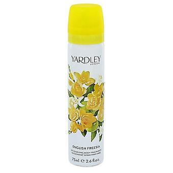 Englanti Freesia Body Spray Yardley Lontoo 2.6 oz Body Spray