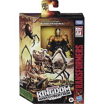 Transformers Black Arachnia WFC Deluxe Series Figure