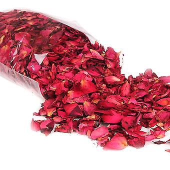50/100g natürliche getrocknete Rose Blütenblätter Bad trockene Blume Blütenblatt Spa Whitening Dusche
