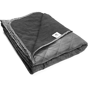 Bessport Camping Blanket Warm  Lightweight - 800g, Quilted with Extra Thick Fleece Throw Blanke
