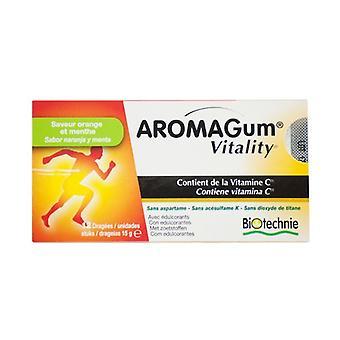 Aromagum Vitality 12 stuks (Oranje - Munt)