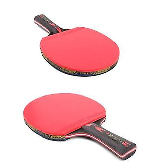 Table Tennis Racket Set With Retractable Mesh Carrying Case