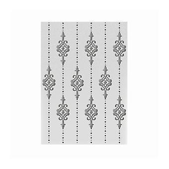 Couture Skapelser 5x7 tum prägla mapp Lilliputana Gardin
