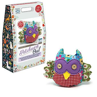 Patchwork Owl Sewing Kit For Beginners