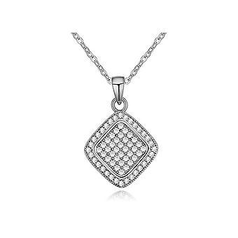 Womans gnistre Diamond Design halskæde