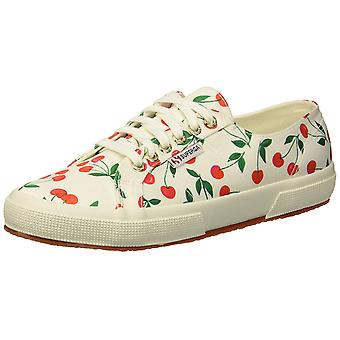 SUPERGA Womens 2750 Satinfantw Low Top Lace Up Fashion Sneakers