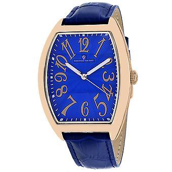 Christian Van Sant Men's Royalty II Blue Dial Watch - CV0376