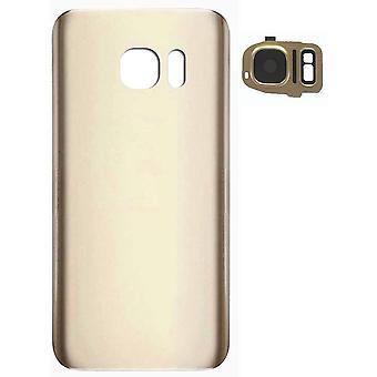 FengChundeckel Akku Ersatz für Samsung Galaxy S7edge(Gold) Cover Rückseite Reparaturteil Mit Tool