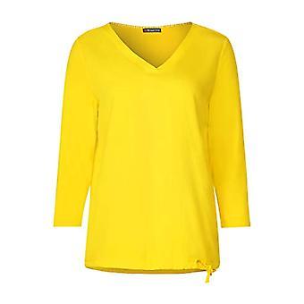 Street One 314646 T-Shirt, Bright Yellow, 52 Woman
