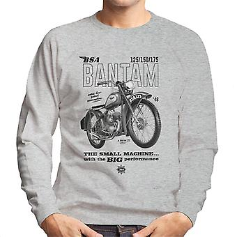 BSA Bantam Small Machine Big Performance Men's Sweatshirt
