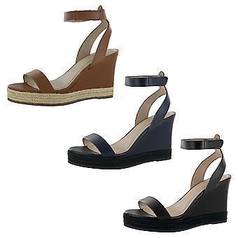 H Por Halston Mujer Gene Wedge Sandal Shoes