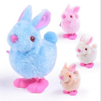 Wicklung Plüsch Bunny Küken Uhrwerk Cartoon bunte springen Spielzeug